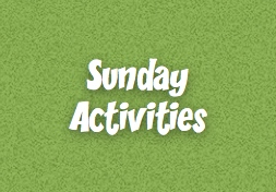 Sunday activities button
